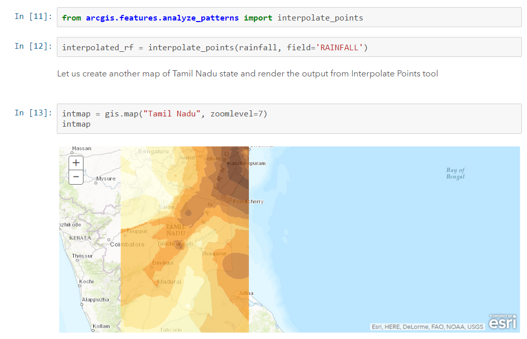 ArcGIS Online Analyse-Tools in Jupyter Notebooks