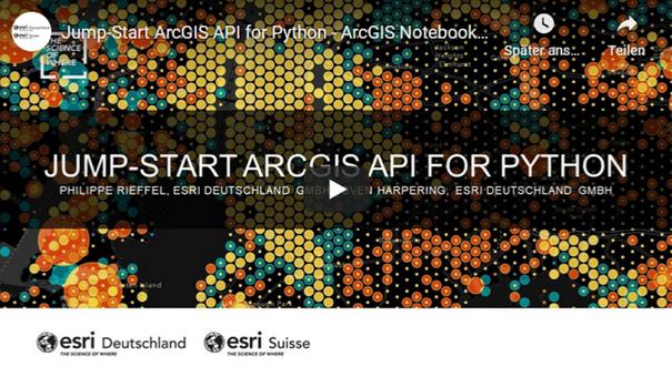 Ein eduGIS-Seminar für Fortgeschrittene zum Thema ArcGIS und Python